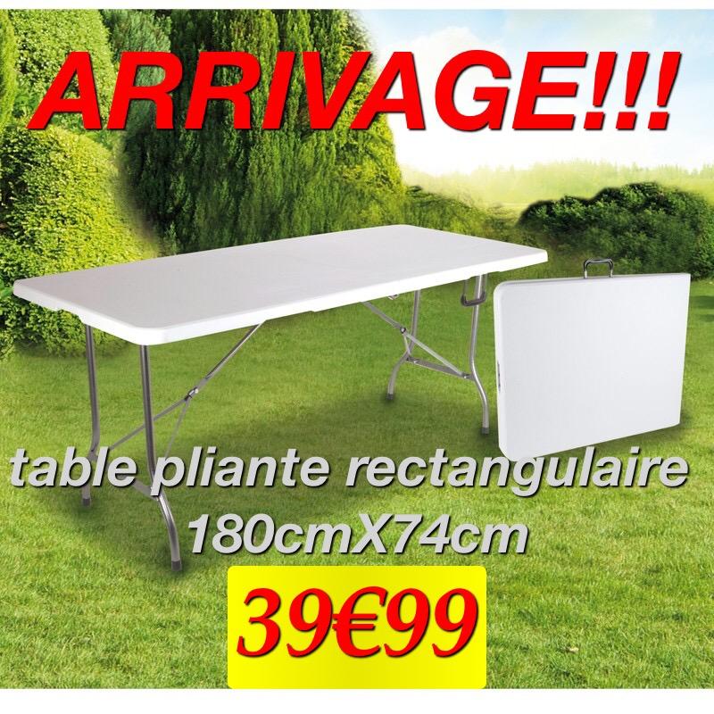 Pliante Table Table Pliante 180cm L'outilleur Aubagnais 180cm uTKJ3Fcl15