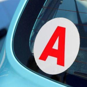 Vhicule d'apprenti conducteur