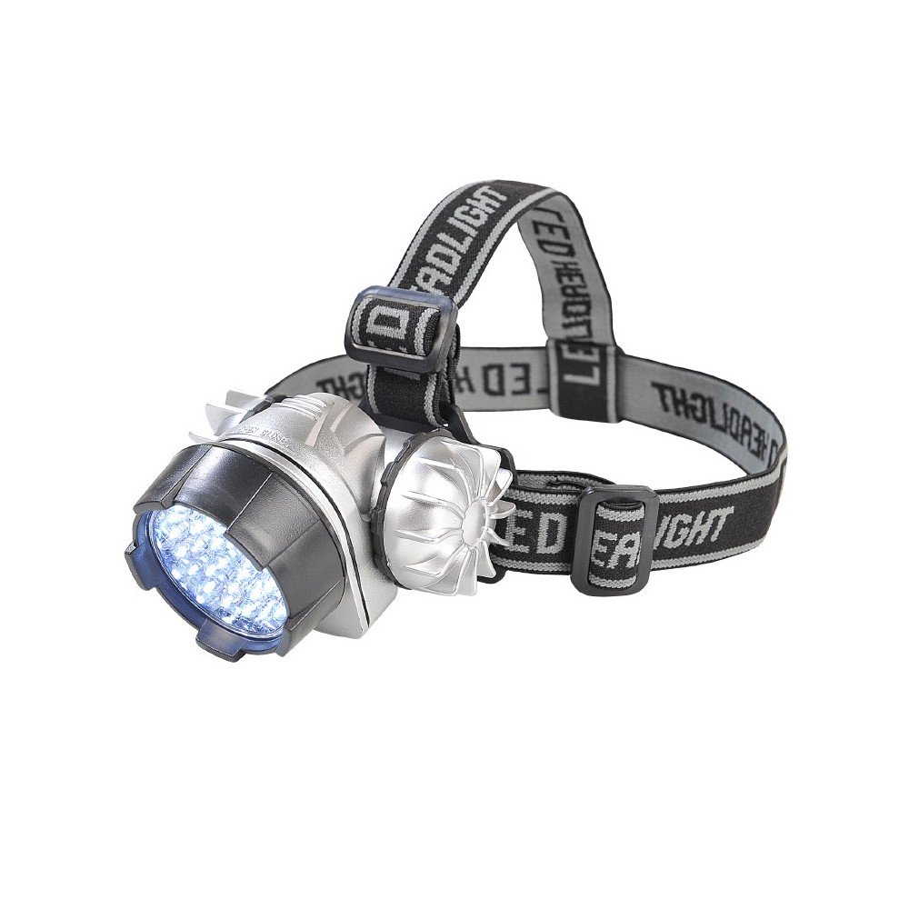 LAMPE FRONTALE 34 LEDS